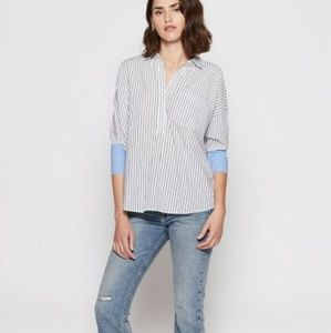 Joe selinde stripe shirt